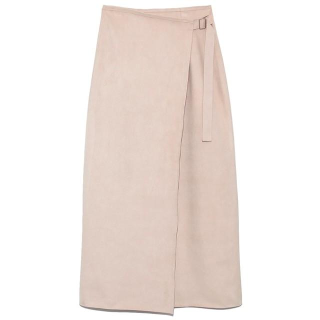 【フレイ アイディー/FRAY I.D】 スェードボンディングラインスカート