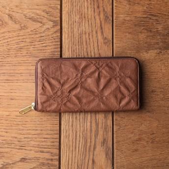 Daily russet(デイリーラシット)/【KYOTO Fabric】ファスナー財布