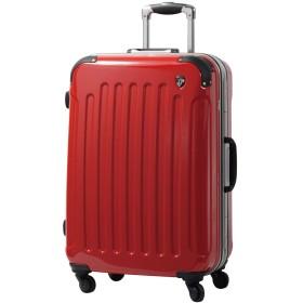 SS型 ロイヤルレッド / newPC7000 スーツケース キャリーバッグ 機内持ち込み TSAロック搭載 鏡面加工(1~3日用)