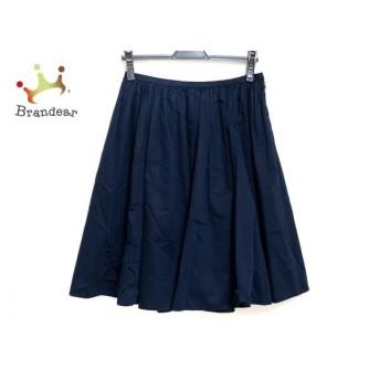 エストネーション ESTNATION スカート サイズ36 S レディース 美品 ネイビー   スペシャル特価 20200104
