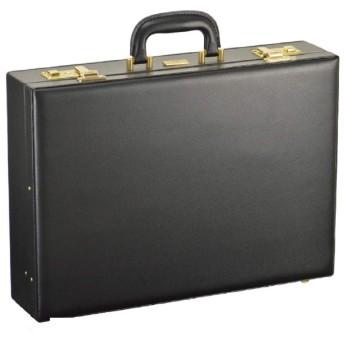 アタッシュケース A3 ビジネスバッグ ブリーフケース フライトケース パイロットケース 日本製 豊岡製鞄 メンズ 雨露にも強い合皮素材 錠前付き板状ロック