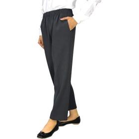 [TCC][96375]短め丈でスグ履ける!丈直不要フリーパンツ 選べる股下55cm/58cm (グレー 3L(55))