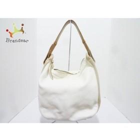 フルラ FURLA ハンドバッグ 白×ベージュ レザー   スペシャル特価 20191130