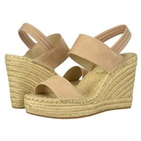 [ケネスコール ニューヨーク] レディースヒール・パンプス・靴 Olivia Simple Espadrille Buff Suede (27cm) M [並行輸入品]