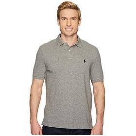 [Polo Ralph Lauren(ポロラルフローレン)] シャツ・ワイシャツ等 Classic Fit Mesh Polo Canterbury Heather L [並行輸入品]