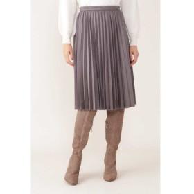 NATURAL BEAUTY / ◆スエードプリーツスカート