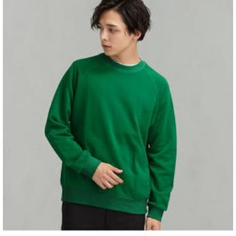 【green label relaxing:トップス】SC★★GLR ロゴ スウェット クルー LS #