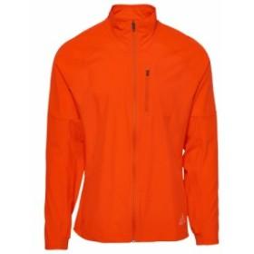 アディダス adidas メンズ ランニング・ウォーキング ジャケット アウター Rise Up N Run Jacket Active Orange