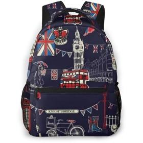 バックパック ロンドン 交通機関 Pcリュック ビジネスリュック バッグ 防水バックパック 多機能 通学 出張 旅行用デイパック