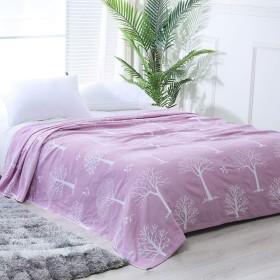 綿プリントベッド毛布/ナップソファ毛布/ベッドエッジスローブランケット、軽量、旅行|オフィス|ホリデーギフト良い選択 (色 : D, Size : 150x200cm)