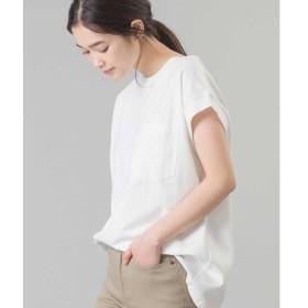[マルイ] 【OMNES】 ヘビーウェイトポケット付ノースリーブTシャツ/ハプティック(レディス)(HAPTIC)