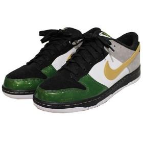 NIKE × mita sneakers DUNK LOW JP QS 温故知新 ダンク ローカット スニーカー グリーン×グレー×メタリックゴールド