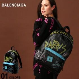 バレンシアガ BALENCIAGA バックパック レザー グラフィティ アリーナ エクスプローラー リュックサック ブランド メンズ レディース バッグ BC5032210FE35