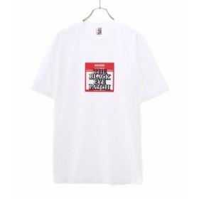 BlackEyePatch / ブラックアイパッチ : LABEL TEE / 全2色 : 19AW 19秋冬 ティーシャツ カットソー 半袖 トップス メンズ : BEPF19TE01