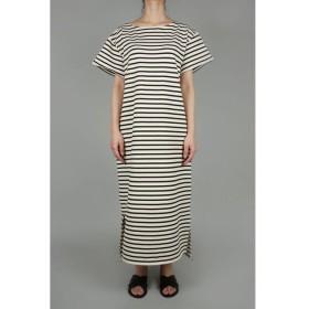 Cotton inlay border Dress (1802F06002) Florent(フローレント)