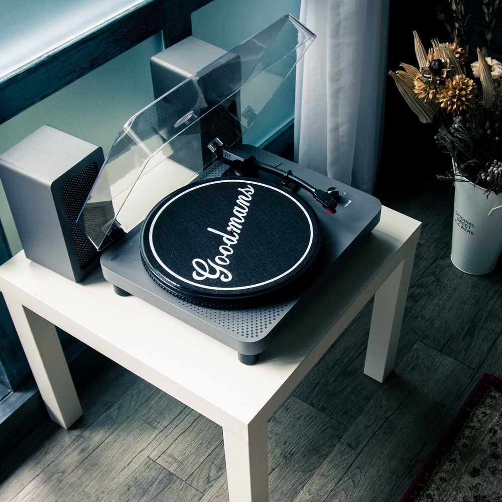Goodmans MANCHESTER曼徹斯特 經典黑膠唱機