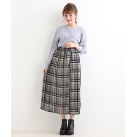 【MAJESTIC LEGON:スカート】チェックプリーツスカート