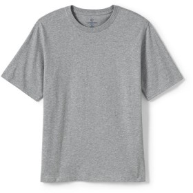 スーパーT 半袖 [ランズエンド] LANDS' END メンズ ビッグTシャツ オールシーズン グレーヘザー XS GRH-XS