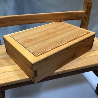 シンプルな木箱 - 小物入れやおもちゃ、プレゼント用等に (2)