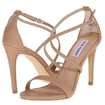 [スティーブマデン] レディースヒール・パンプス・靴 Feliz Heeled Sandal Natural US 6 (23cm) M [並行輸入品]