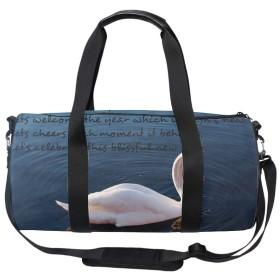 2wayスポーツバッグ 乾湿分離 シューズ収納 防水 ボストン新年の引用 ジム プール 海 旅行 ドラムバッグ