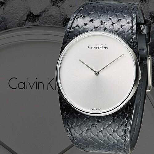 ck手錶 唯我獨秀潮流皮帶錶-黑(k5v231c6)