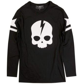 [ハイドロゲン]HYDROGEN ロングTシャツ 230053 118 BLACK/WHITE size L [並行輸入品]