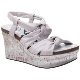 [オーティービーティー] レディース サンダル Far Side Leather Platform Wedge Sandals [並行輸入品]