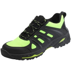 [Sucute-woman] 安全靴 メンズ 作業靴 ハイキングシューズ メンズ トレッキングシューズ 労働保険靴 耐磨耗 衝撃吸収 通気性抜群 防臭