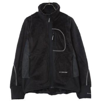 【15%OFF】and wander / アンドワンダー : high loft fleece jacket : ハイ ロフト フリース ジャケット : AW93-JT601