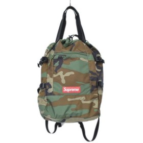 SUPREME 19SS  Tote Back Pack カモフラ柄 トート バックパック カーキ・ブラウン他 (アメリカ村店) 190918