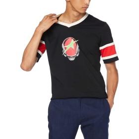 (ディーゼル) DIESEL メンズ Tシャツ スポーティーデザイン 00SXEF0NAZA M ブラック 900