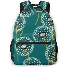 バックパック タンポポ PCリュック ビジネスリュック バッグ 防水バックパック 多機能 通学 出張 旅行用デイパック