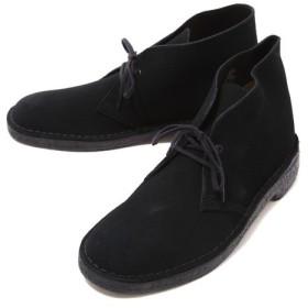 Clarks[クラークス] / DESERT BOOT -BLK SUEDE-(デザート ブーツ レザー シューズ 靴 クラークス)26107882