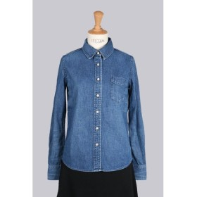 DENIM WESTERN NATURAL PROCESSED SHIRT (RN16189028-3) Remi Relief -Women-(レミ・レリーフ)