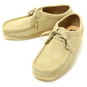 【20%OFF】Clarks[クラークス] / WALLABEE -Maple SUEDE-(デザート ブーツ レザー シューズ 靴 クラークス)26103760