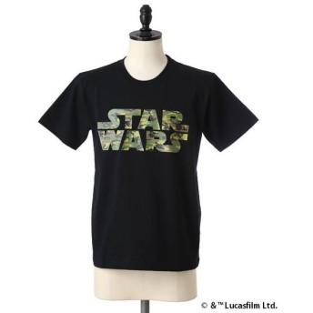 【40%OFF】narifuri / ナリフリ : STARWARS ドットカモロゴ Tシャツ : スターウォーズ Tシャツ 半袖 カットソー : NF773