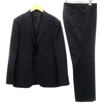 UNITED ARROWS トロピカルウール段返り3Bスーツ ブラック サイズ:50 (明石店) 190915