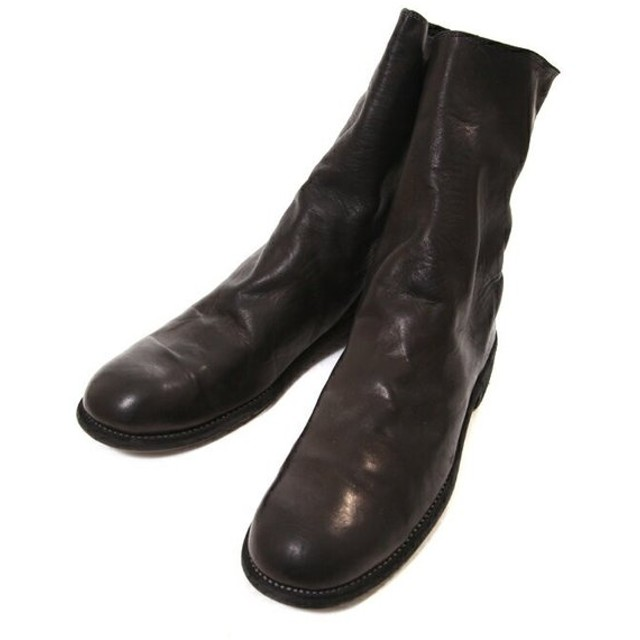 GUIDI / グイディ : 988 Horse Full Grain Backzip Boot : グイディ ブーツ バックジップ 革靴 レザー シューズ : 988-HORSFG-bjb