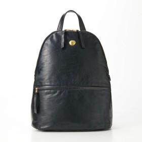 バッグ カバン 鞄 レディース リュック 馬革リュックサック[日本製] カラー 「ブラック」