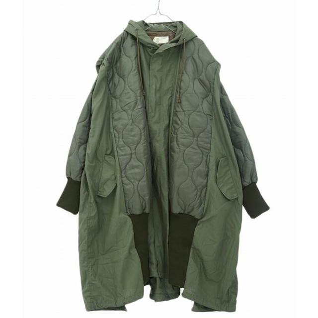 77circa / ナナナナサーカ : circa make M-51fish tail cut back wide coat / 全3色 : ナナナナサーカ フィッシュ タイル カット バック : cc19aw-65