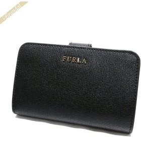 フルラ FURLA レディース 二つ折り財布 バビロン BABYLON レザー ブラック PR85 B30 O60 / 872836 ONYX [在庫品]