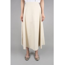 SOFT LAMB LETHER SKIRT-IVORY(12RLEBOT-03TO) Bluebird Boulevard(ブルーバード・ブルバード)