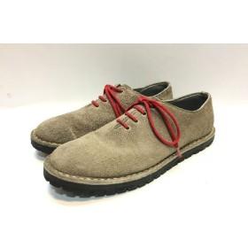 代官山) コムデギャルソン COMME des GARCONS スエード シューズ グレー 26 1/2 靴