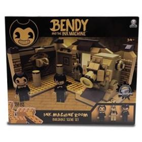 [CENTE]ベンディ・アンド・ザ・インクマシーン ブロックフィギュア ビルダブル・シーン・セット 259ピース インクマシーン ルーム / BE