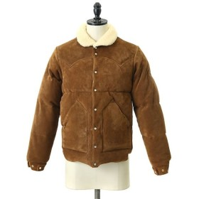 ROCKY MOUNTAIN FEATHER BED / ロッキーマウンテンフェザーベッド : LEATHER CHRISTY JACKET (LCJ) : ダウン ロッキー : 200-182-09
