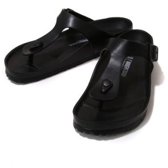 BIRKENSTOCK / ビルケンシュトック : GIZEH EVA(レギュラーフィット)-ブラック (約22cm〜28cm) : サンダル ウォッシャブル:GE128201