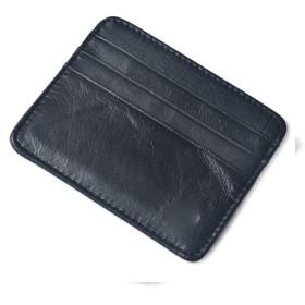ZHENGDANG 財布メンズビジネススモール本革財布レザーカードケース