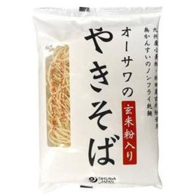オーサワのやきそば(玄米粉入り)乾麺 (160g) 【オーサワ】