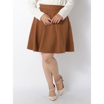 【大きいサイズレディース】≪新作≫【3L-4L展開】スキスカミニスカート スカート ミニスカート